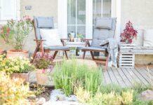 mieszkanie na przedmiesciach z ogrodem